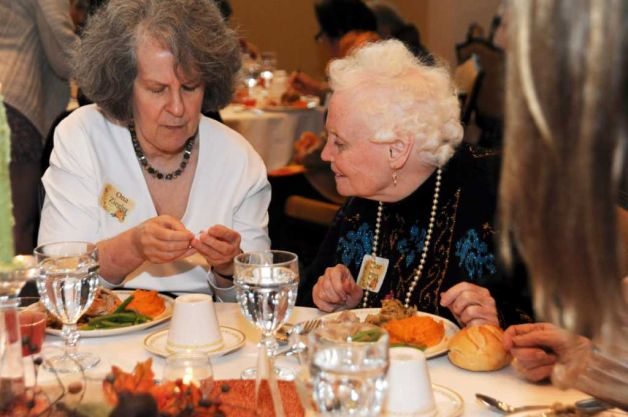 Elderly Thanksgiving at a Nursing Home