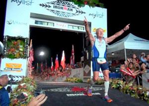 Ironman Lew Hollander